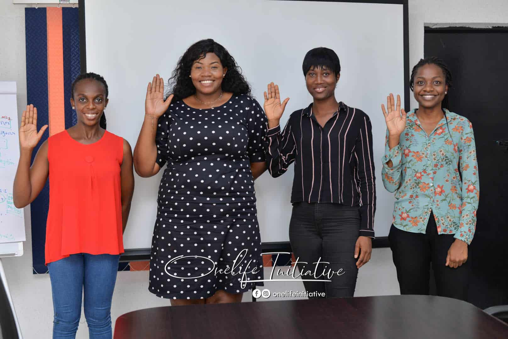 four young women choose to challenge